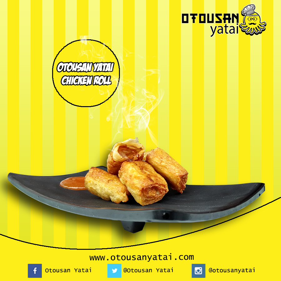 Franchise / Waralaba Otousan yatai chicken Roll